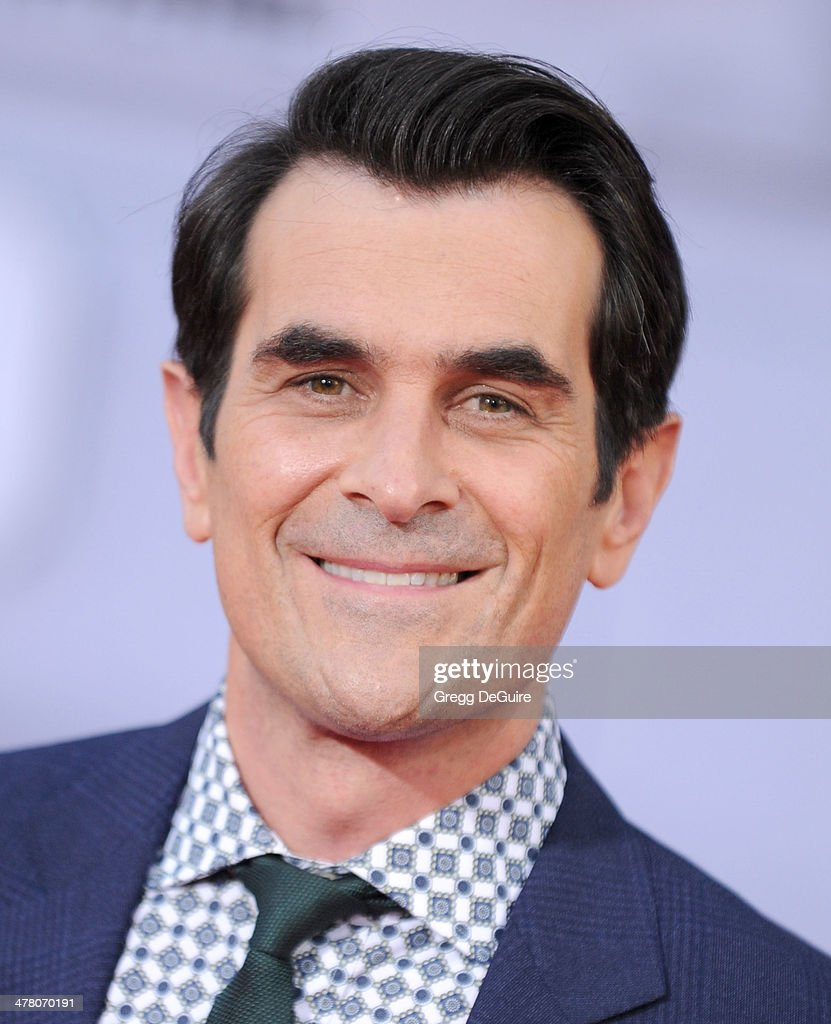 Actor Ty Burrell arrives at the Los Angeles premiere of 'Muppets Most Wanted' at the El Capitan Theatre on March 11 2014 in Hollywood California