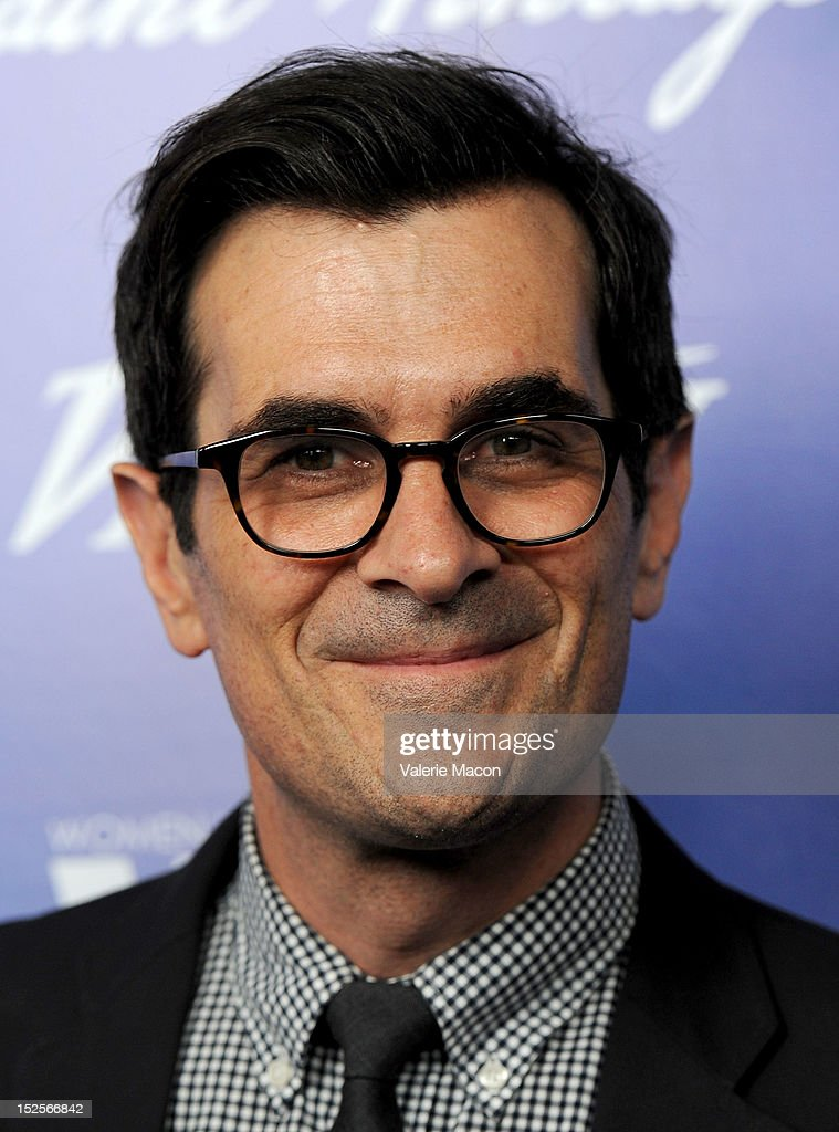 Actor <a gi-track='captionPersonalityLinkClicked' href=/galleries/search?phrase=Ty+Burrell&family=editorial&specificpeople=700077 ng-click='$event.stopPropagation()'>Ty Burrell</a> arrives at the Variety And Women In Film Pre-Emmy Event at Scarpetta on September 21, 2012 in Beverly Hills, California.