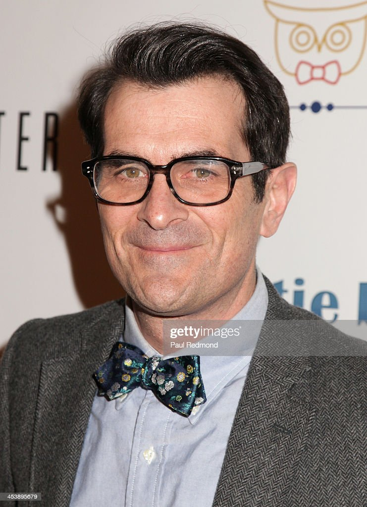 Actor Ty Burrell arrives at 'Tie The Knot' Store Grand Opening with founder Jesse Tyler Ferguson at The Beverly Center on December 5, 2013 in Los Angeles, California.