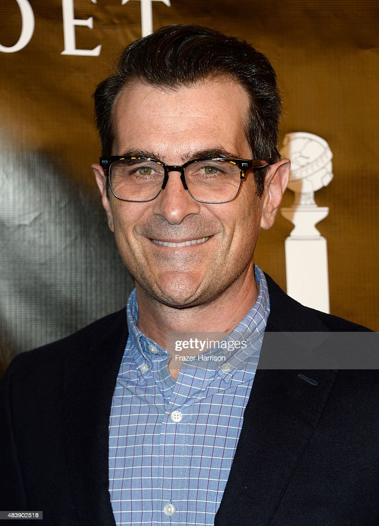 Actor Ty Burrell attends HFPA Annual Grants Banquet at the Beverly Wilshire Four Seasons Hotel on August 13 2015 in Beverly Hills California