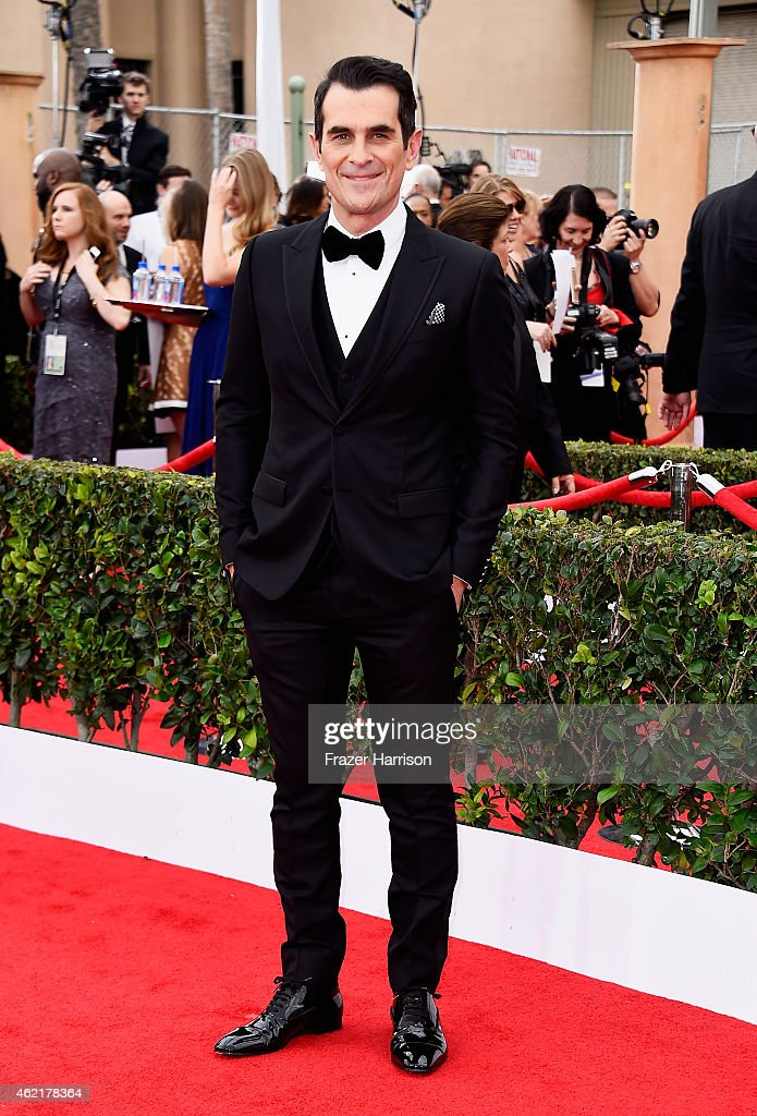 Actor Ty Burrell attends the 21st Annual Screen Actors Guild Awards at The Shrine Auditorium on January 25 2015 in Los Angeles California