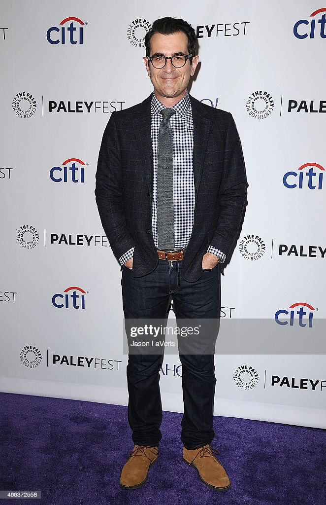 Actor Ty Burrell attends the 'Modern Family' event at the 32nd annual PaleyFest at Dolby Theatre on March 14 2015 in Hollywood California