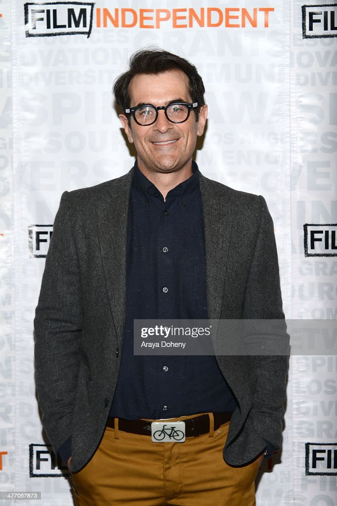 Actor Ty Burrell attends the Mr Peabody Sherman Film Independent screening and QA at Landmark Nuart Theatre on March 6 2014 in Los Angeles California