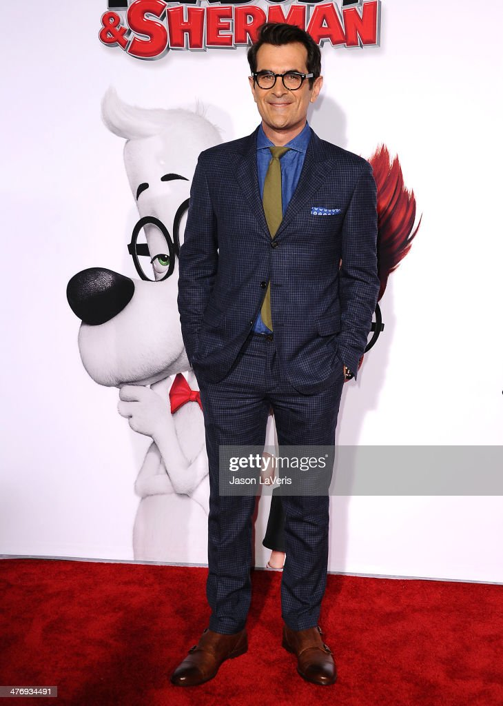Actor Ty Burrell attends the premiere of 'Mr Peabody Sherman' at Regency Village Theatre on March 5 2014 in Westwood California