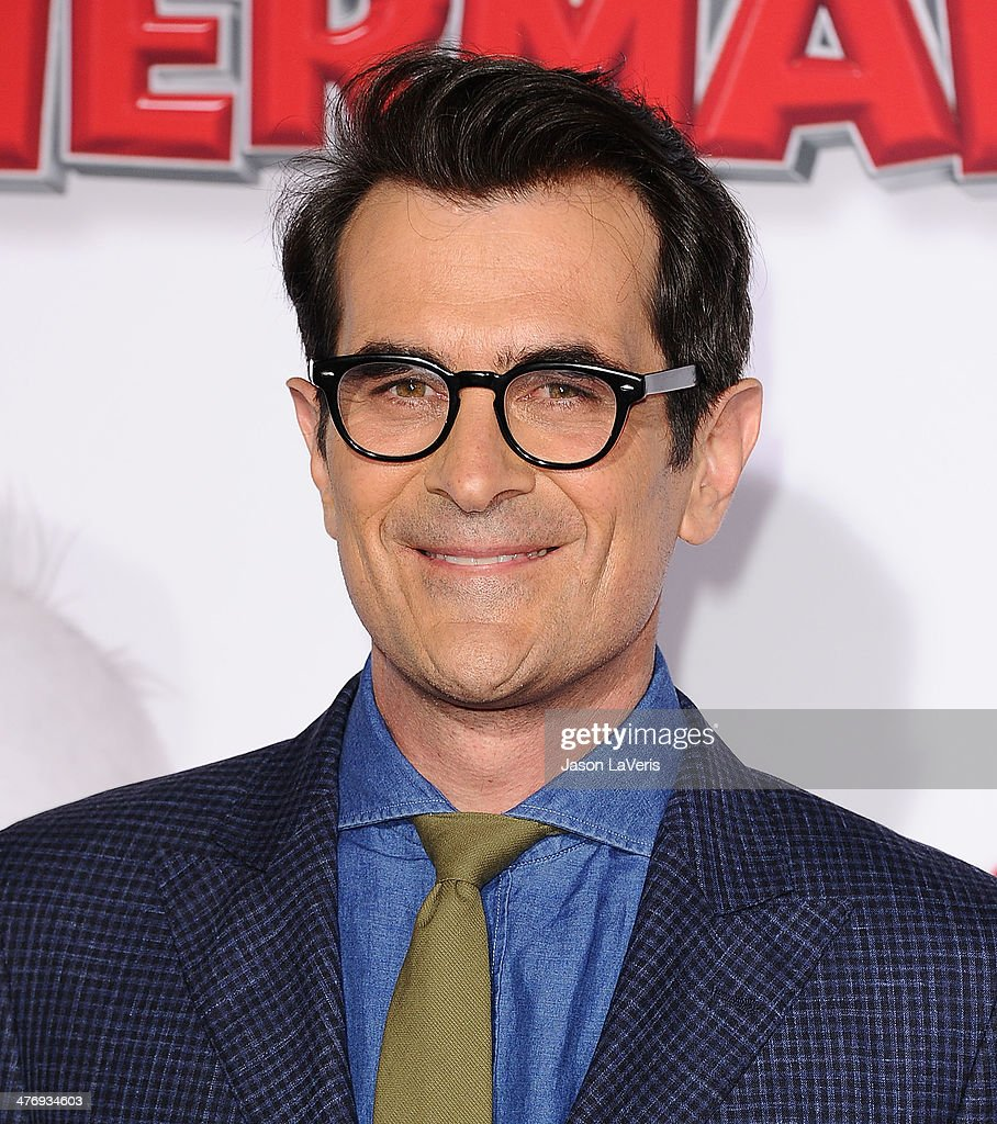 Actor <a gi-track='captionPersonalityLinkClicked' href=/galleries/search?phrase=Ty+Burrell&family=editorial&specificpeople=700077 ng-click='$event.stopPropagation()'>Ty Burrell</a> attends the premiere of 'Mr. Peabody & Sherman' at Regency Village Theatre on March 5, 2014 in Westwood, California.