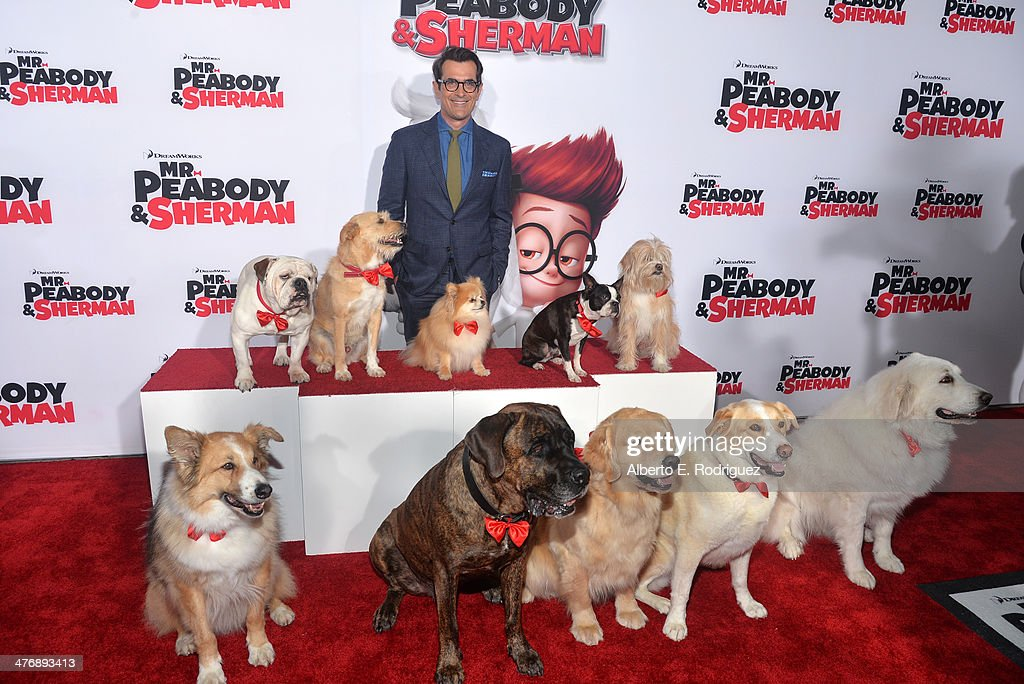 Actor Ty Burrell attends the premiere of Twentieth Century Fox and DreamWorks Animation's 'Mr Peabody Sherman' at Regency Village Theatre on March 5...