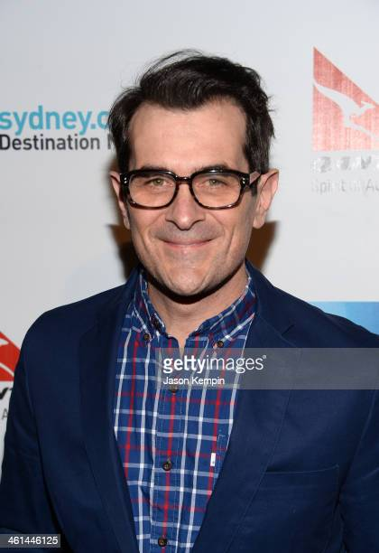 Actor Ty Burrell attends the Qantas Spirit Of Australia Party on January 8 2014 in Beverly Hills California