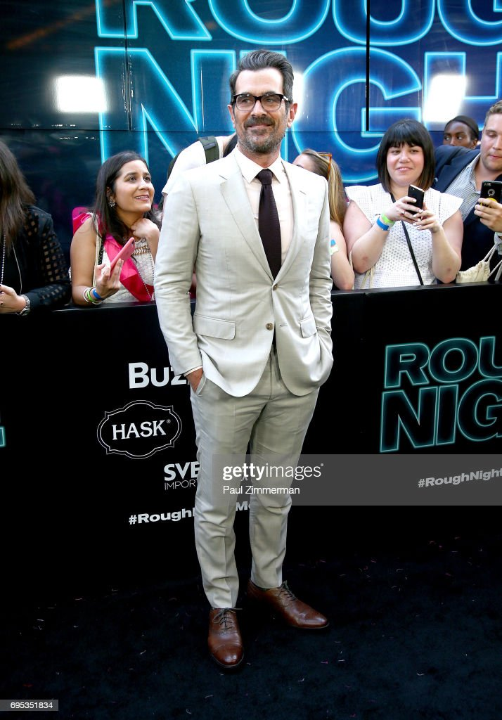 Actor Ty Burrell attends the 'Rough Night' New York Premiere on June 12, 2017 in New York City.