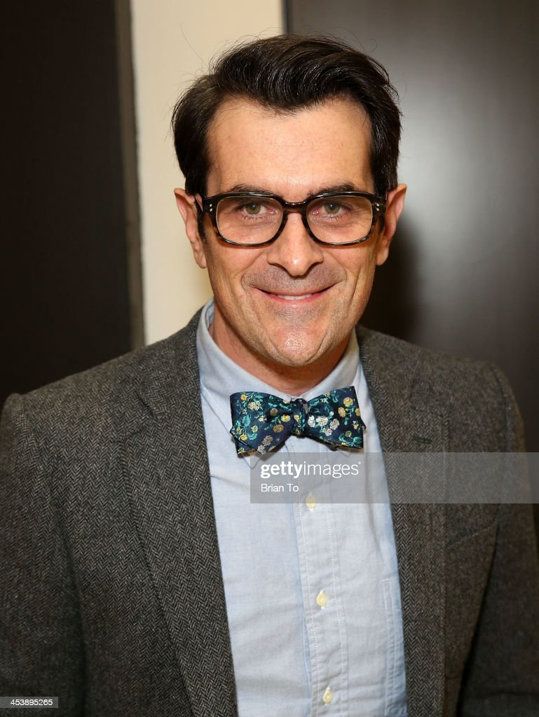 Actor <a gi-track='captionPersonalityLinkClicked' href=/galleries/search?phrase=Ty+Burrell&family=editorial&specificpeople=700077 ng-click='$event.stopPropagation()'>Ty Burrell</a> attends Tie The Knot Pop-Up Store at The Beverly Center on December 5, 2013 in Los Angeles, California.