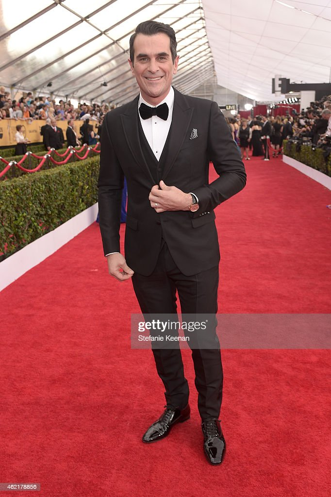 Actor Ty Burrell attends TNT's 21st Annual Screen Actors Guild Awards at The Shrine Auditorium on January 25 2015 in Los Angeles California 25184_022