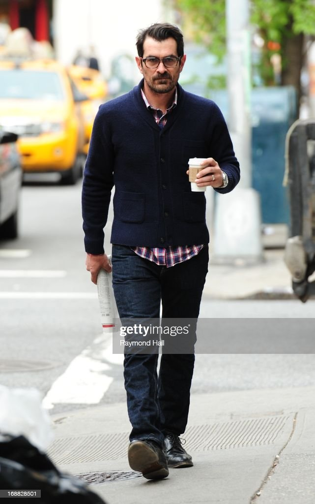Actor <a gi-track='captionPersonalityLinkClicked' href=/galleries/search?phrase=Ty+Burrell&family=editorial&specificpeople=700077 ng-click='$event.stopPropagation()'>Ty Burrell</a> is seen in Soho on May 15, 2013 in New York City.