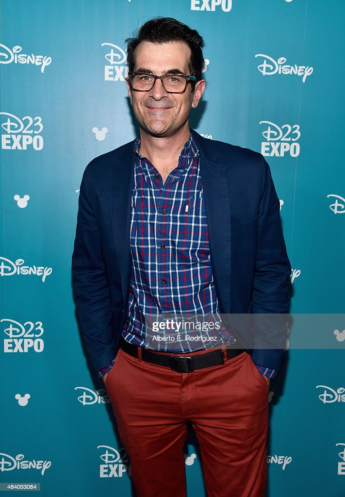 Actor Ty Burrell of FINDING DORY took part today in 'Pixar and Walt Disney Animation Studios: The Upcoming Films' presentation at Disney's D23 EXPO 2015 in Anaheim, Calif.