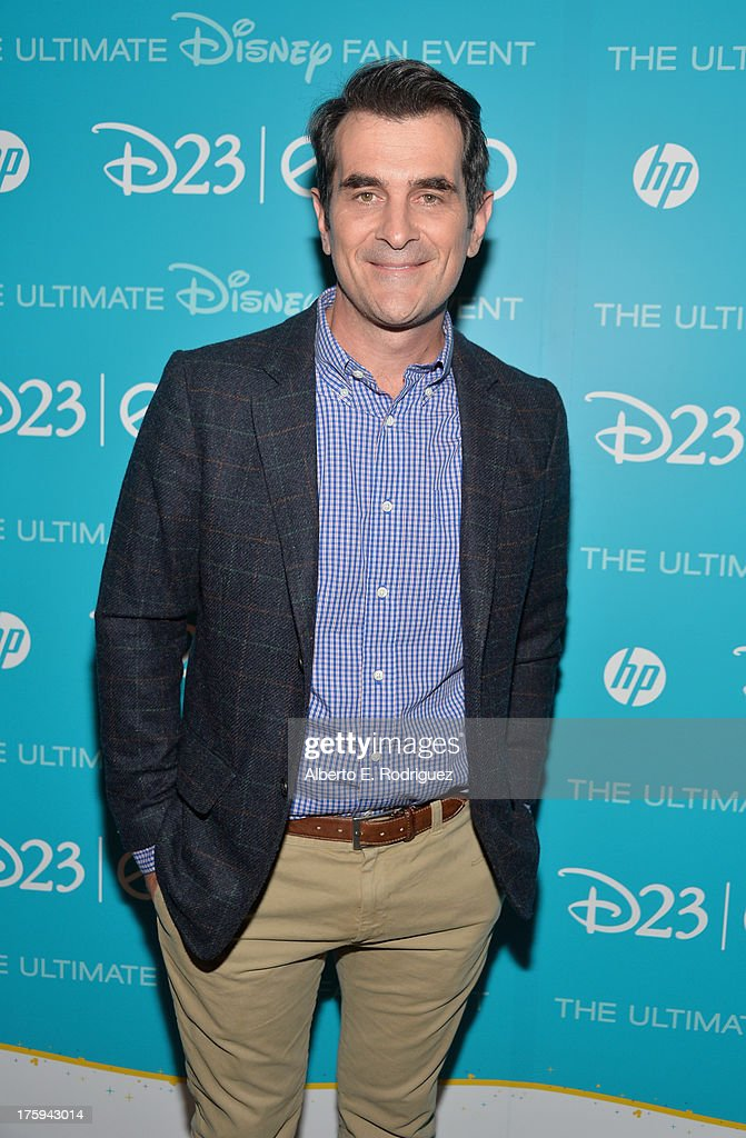 Actor Ty Burrell of 'Muppets Most Wanted' attends 'Let the Adventures Begin: Live Action at The Walt Disney Studios' presentation at Disney's D23 Expo held at the Anaheim Convention Center on August 10, 2013 in Anaheim, California.