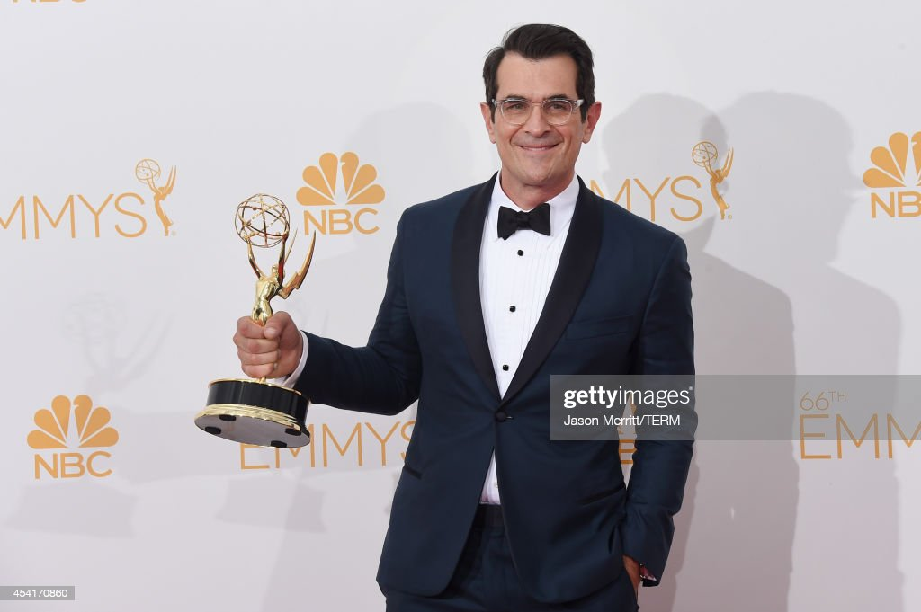 Actor Ty Burrell winner of the Outstanding Supporting Actor in a Comedy Series Award for Modern Family