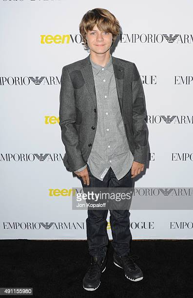 Actor Ty Simpkins arrives at Teen Vogue's 13th Annual Young Hollywood Issue Launch Party on October 2 2015 in Los Angeles California
