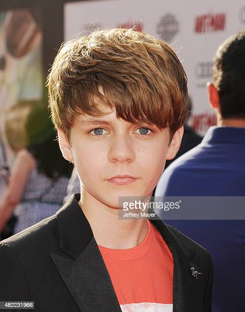 Actor Ty Simpkins arrives at the Los Angeles premiere of Marvel Studios 'AntMan' at Dolby Theatre on June 29 2015 in Hollywood California