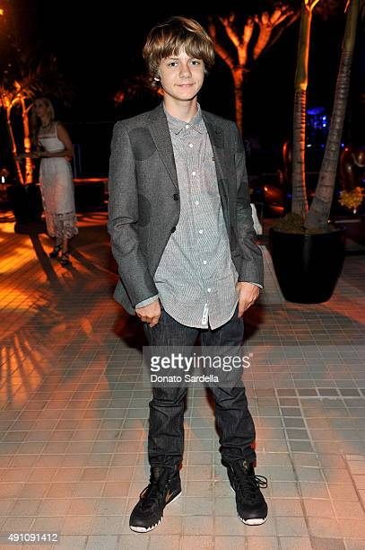 Actor Ty Simpkins attends Teen Vogue Celebrates the 13th Annual Young Hollywood Issue with Emporio Armani on October 2 2015 in Beverly Hills...