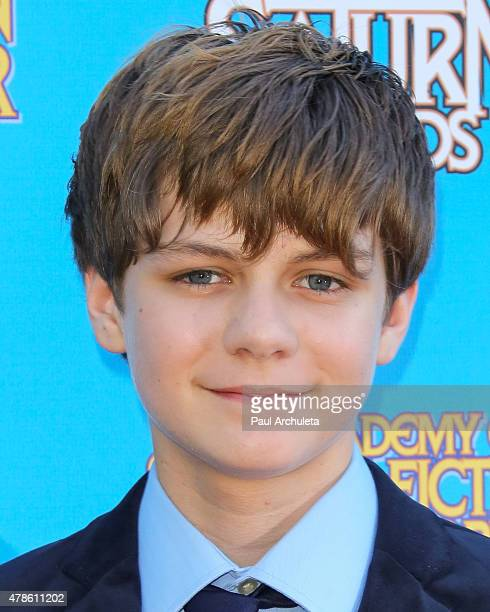 Actor Ty Simpkins attends the 41st annual Saturn Awards at The Castaway on June 25 2015 in Burbank California