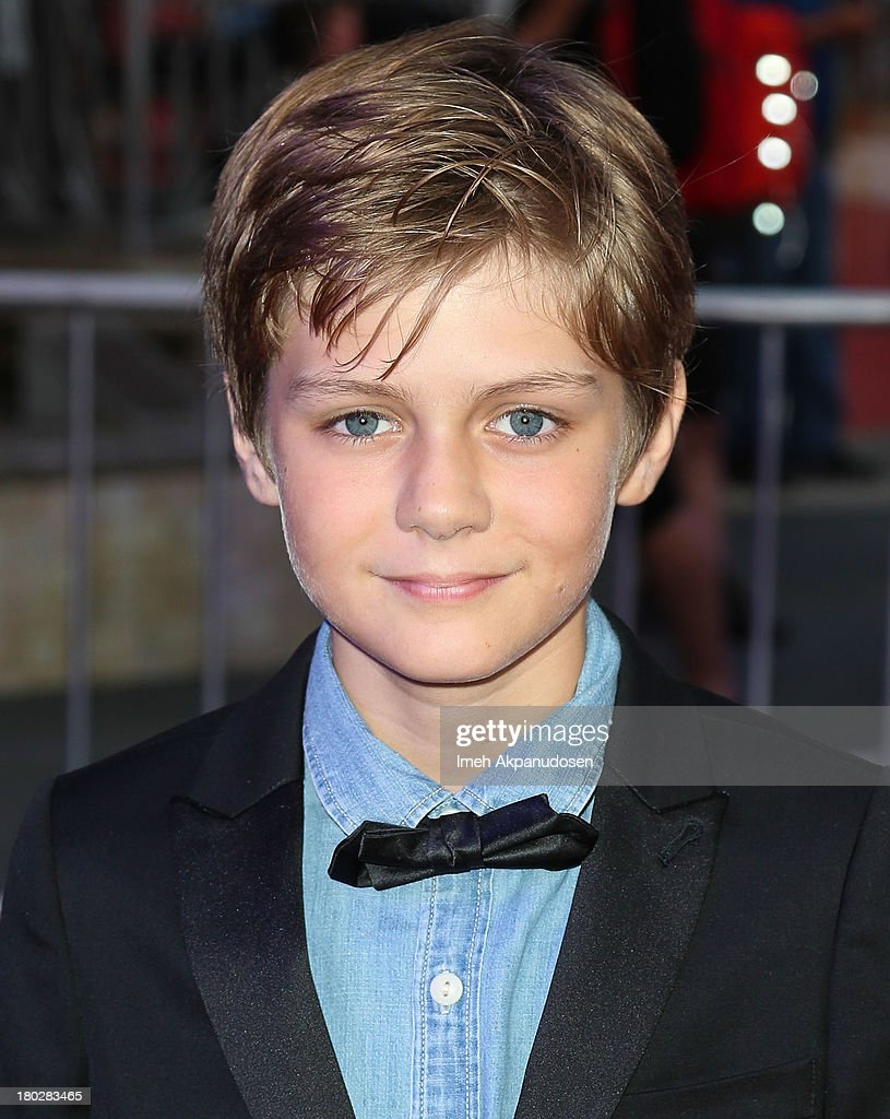 Actor Ty Simpkins attends the premiere of FilmDistrict's 'Insidious: Chapter 2' on September 10, 2013 in Universal City, California.