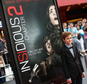 Actor Ty Simpkins attends the premiere of FilmDistrict's 'Insidious Chapter 2' on September 10 2013 in Universal City California