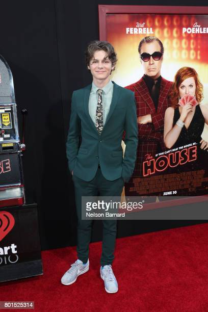 Actor Ty Simpkins attends the premiere of Warner Bros Pictures' 'The House' at TCL Chinese Theatre on June 26 2017 in Hollywood California