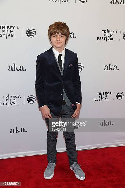 Actor Ty Simpkins attends the world premiere of 'Meadowland' during 2015 Tribeca Film Festival at SVA Theater 1 on April 17 2015 in New York City