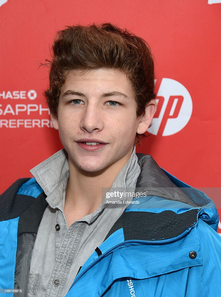 Actor Tye Sheridan arrives at the 2013 Sundance Film Festival Premiere of 'Mud' at The Marc Theatre on January 19, 2013 in Park City, Utah.