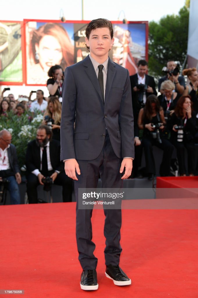 Actor <a gi-track='captionPersonalityLinkClicked' href=/galleries/search?phrase=Tye+Sheridan&family=editorial&specificpeople=7807719 ng-click='$event.stopPropagation()'>Tye Sheridan</a> arrives at the closing ceremony of the 70th Venice International Film Festival at Palazzo del Cinema on September 7, 2013 in Venice, Italy.