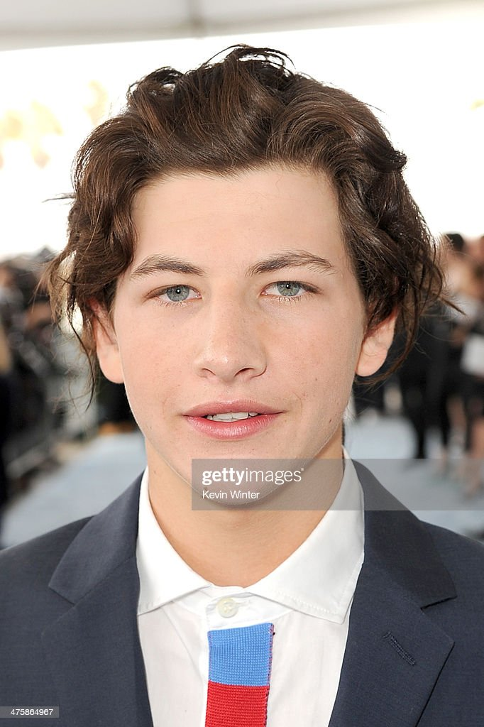 Actor <a gi-track='captionPersonalityLinkClicked' href=/galleries/search?phrase=Tye+Sheridan&family=editorial&specificpeople=7807719 ng-click='$event.stopPropagation()'>Tye Sheridan</a> attends the 2014 Film Independent Spirit Awards at Santa Monica Beach on March 1, 2014 in Santa Monica, California.