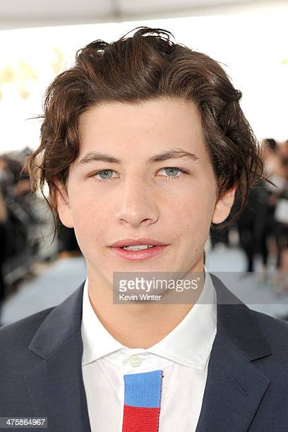 Actor Tye Sheridan attends the 2014 Film Independent Spirit Awards at Santa Monica Beach on March 1 2014 in Santa Monica California