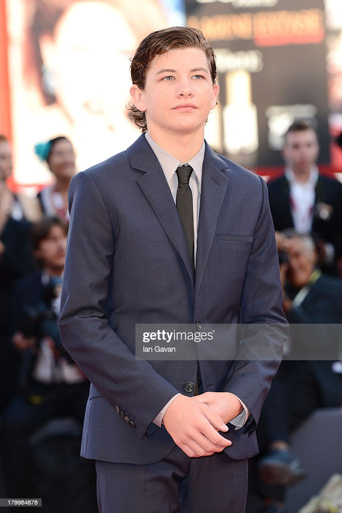 Actor Tye Sheridan attends the Closing Ceremony during the 70th Venice International Film Festival at the Palazzo del Cinema on September 7, 2013 in Venice, Italy.