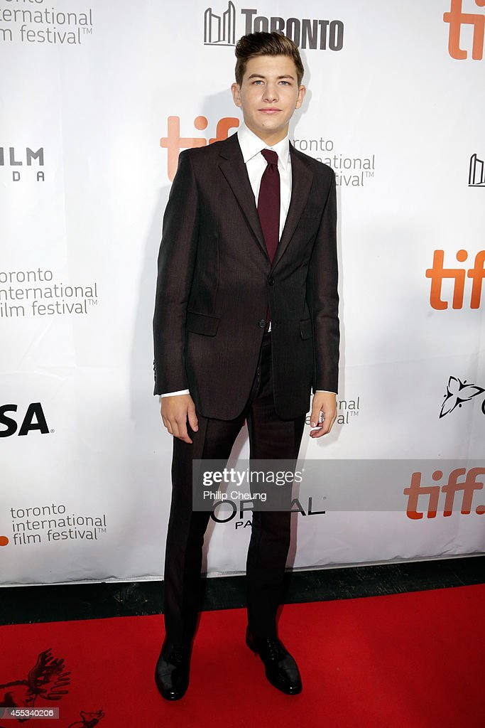 Actor Tye Sheridan attends 'The Forger' premiere during the 2014 Toronto International Film Festival at Roy Thomson Hall on September 12, 2014 in Toronto, Canada.