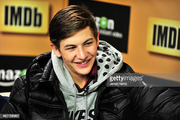 Actor Tye Sheridan attends the IMDb Amazon Instant Video Studio at the village at the lift on January 25 2015 in Park City Utah