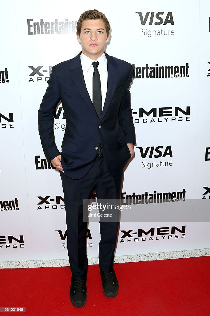 Actor <a gi-track='captionPersonalityLinkClicked' href=/galleries/search?phrase=Tye+Sheridan&family=editorial&specificpeople=7807719 ng-click='$event.stopPropagation()'>Tye Sheridan</a> attends the special screening of 'X-MEN Apocalypse' at Entertainment Weekly on May 24, 2016 in New York City.