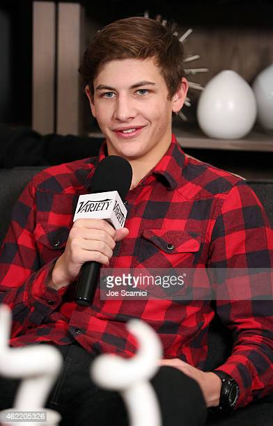 Actor Tye Sheridan attends The Variety Studio At Sundance Presented By Dockers on January 25 2015 in Park City Utah