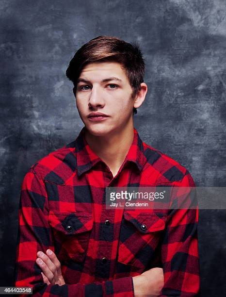 Actor Tye Sheridan is photographed for Los Angeles Times at the 2015 Sundance Film Festival on January 24 2015 in Park City Utah PUBLISHED IMAGE...