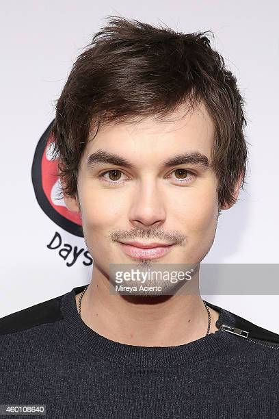 Actor Tyler Blackburn attends ABC's '25 Days Of Christmas' Celebration at Cucina at Rockerfellar Center on December 7 2014 in New York City