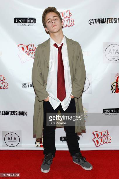 Actor Tyler Carney attends Mateo Simon's Halloween Charity Event on October 28 2017 in Burbank California