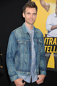 Actor Tyler Hilton attends the Warner Bros Pictures premiere of 'Central Intelligence' held at Regency Village Theater on June 10 2016 in Westwood...