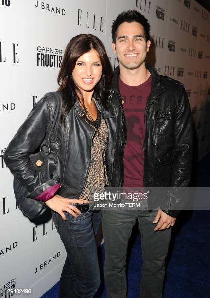 Actor Tyler Hoechlin and guest arrive at ELLE's Second Annual Women In Music Concert Event at Henry Fonda Theater on April 11 2011 in Hollywood...