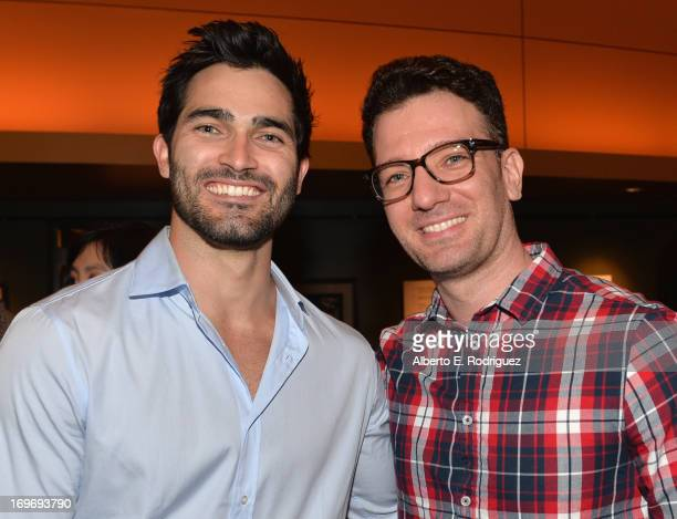 Actor Tyler Hoechlin and singer JC Chasez attend a Screening Of Matthew Morrison's PBS Special 'Matthew Morrison Where It All Began Live From The...