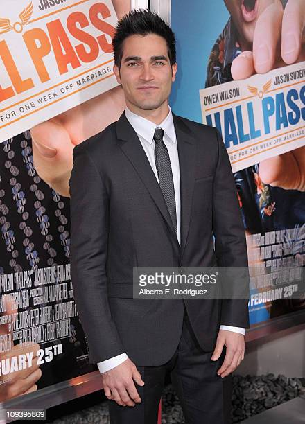 Actor Tyler Hoechlin arrives to the premiere of Warner Bros Pictures' 'Hall Pass' on February 23 2011 in Los Angeles California