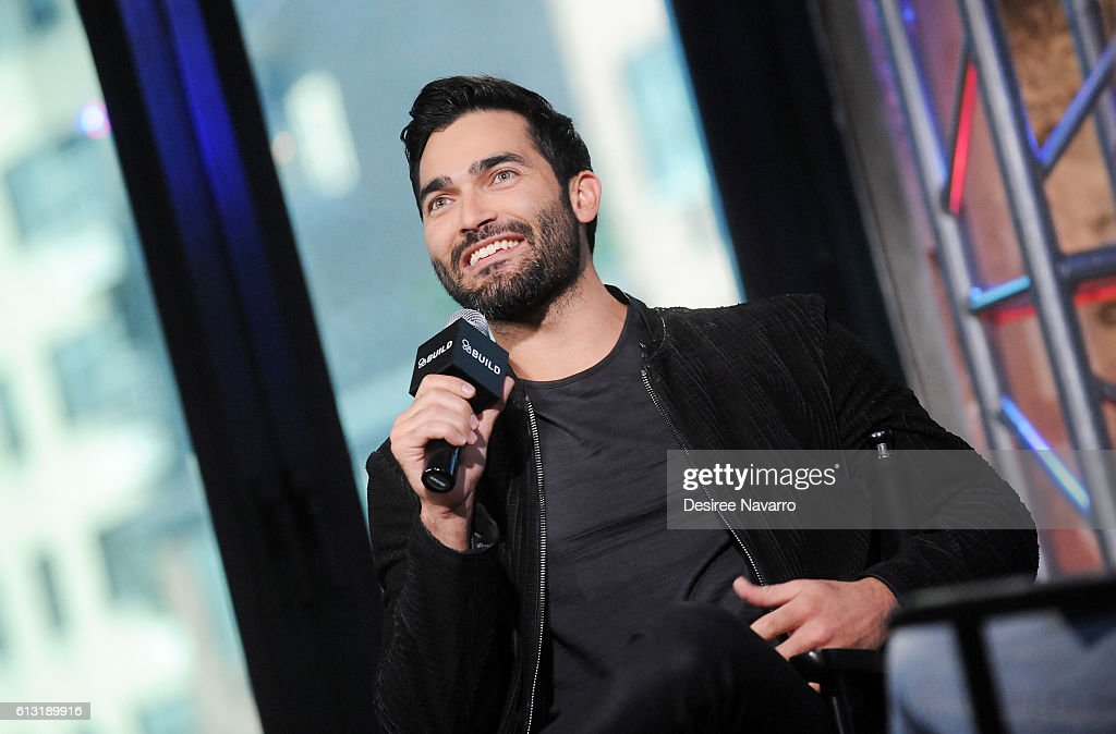 Actor Tyler Hoechlin attends The Build Series discussing 'Supergirl' at AOL HQ on October 7, 2016 in New York City.