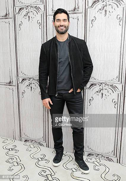 Actor Tyler Hoechlin attends The Build Series Presents Tyler Hoechlin Discussing 'Supergirl' at AOL HQ on October 7 2016 in New York City