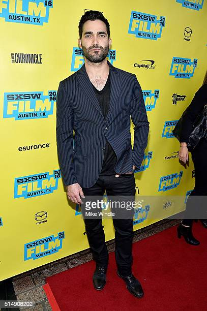 Actor Tyler Hoechlin attends the screening of 'Everybody Wants Some' during the 2016 SXSW Music Film Interactive Festival at Paramount Theatre on...