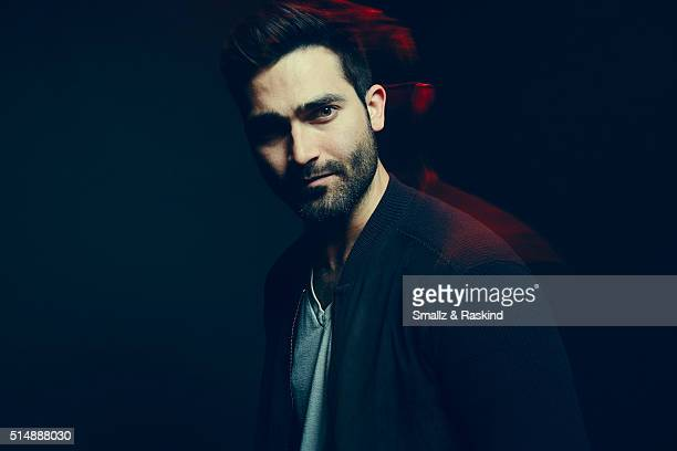 Actor Tyler Hoechlin of 'Everybody Wants Some' poses in the Getty Images SXSW Portrait Studio powered by Samsung on March 11 2016 in Austin Texas