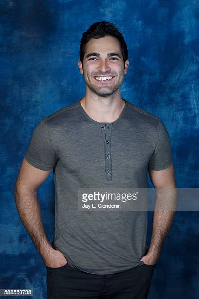 Actor Tyler Hoechlin of 'Supergirl' is photographed for Los Angeles Times at San Diego Comic Con on July 22 2016 in San Diego California