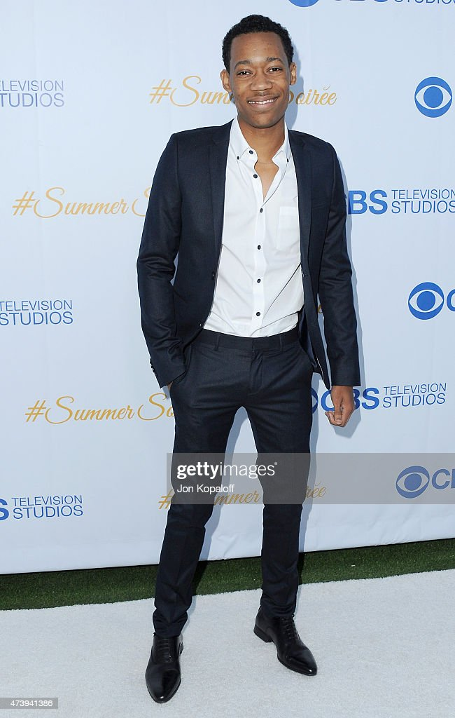 Actor Tyler James Williams arrives at CBS Television Studios 3rd Annual Summer Soiree Party at The London Hotel on May 18, 2015 in West Hollywood, California.