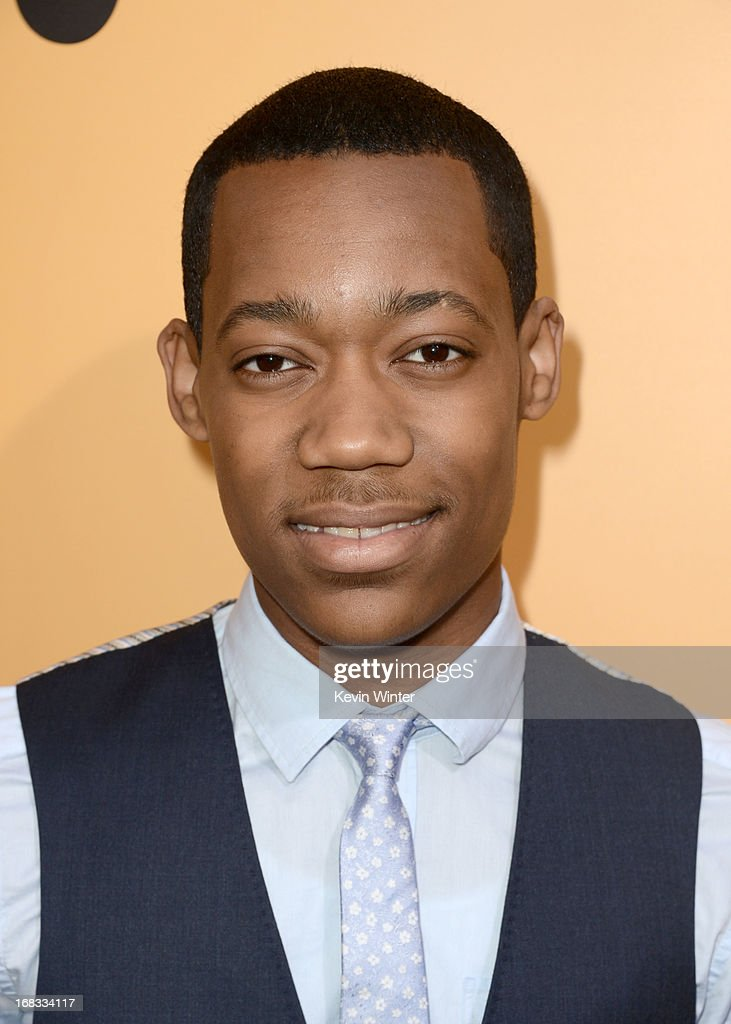 Actor <a gi-track='captionPersonalityLinkClicked' href=/galleries/search?phrase=Tyler+James+Williams&family=editorial&specificpeople=631099 ng-click='$event.stopPropagation()'>Tyler James Williams</a> arrives at the premiere of 'Peeples' presented by Lionsgate Film and Tyler Perry at ArcLight Hollywood on May 8, 2013 in Hollywood, California.