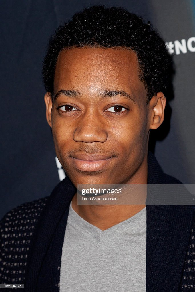 Actor <a gi-track='captionPersonalityLinkClicked' href=/galleries/search?phrase=Tyler+James+Williams&family=editorial&specificpeople=631099 ng-click='$event.stopPropagation()'>Tyler James Williams</a> attends a Janelle Monae Nokia Music Launch Concert at Club Nokia with Janelle Monae on September 25, 2012 in Los Angeles, California.